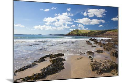 Manorbier, Pembrokeshire, Wales, United Kingdom, Europe-Billy Stock-Mounted Photographic Print