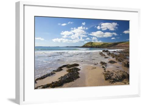 Manorbier, Pembrokeshire, Wales, United Kingdom, Europe-Billy Stock-Framed Art Print