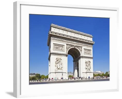 Arc de Triomphe, Paris, France, Europe-Neale Clark-Framed Art Print