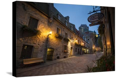 Quebec City, Province of Quebec, Canada, North America-Michael Snell-Stretched Canvas Print