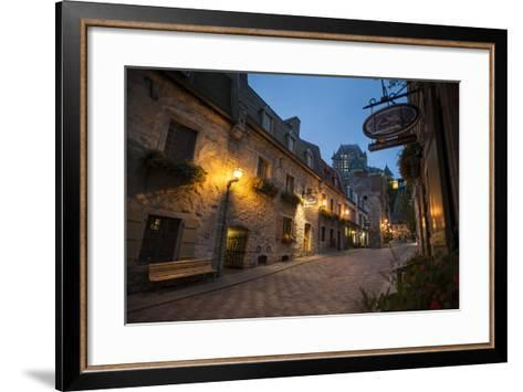 Quebec City, Province of Quebec, Canada, North America-Michael Snell-Framed Art Print