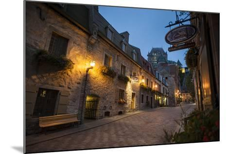 Quebec City, Province of Quebec, Canada, North America-Michael Snell-Mounted Photographic Print