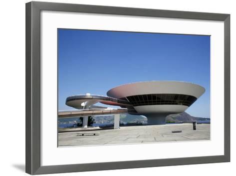 Museu do Arte Contemporanea (Museum of Contemporary Art), Niteroi, Rio de Janeiro, Brazil-Yadid Levy-Framed Art Print
