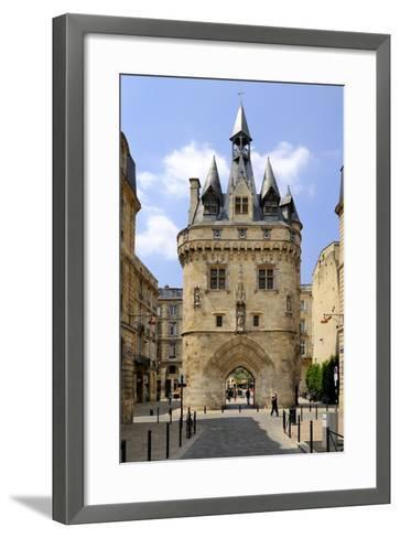 Porte Cailhau, Bordeaux, UNESCO World Heritage Site, Gironde, Aquitaine, France, Europe-Peter Richardson-Framed Art Print