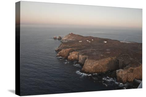 Aerial Photo of Anacapa, Channel Islands National Park, California, United States of America-Antonio Busiello-Stretched Canvas Print