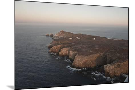 Aerial Photo of Anacapa, Channel Islands National Park, California, United States of America-Antonio Busiello-Mounted Photographic Print