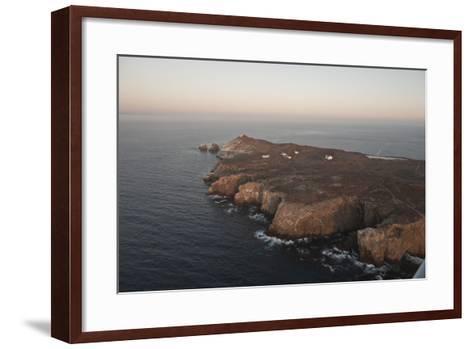 Aerial Photo of Anacapa, Channel Islands National Park, California, United States of America-Antonio Busiello-Framed Art Print