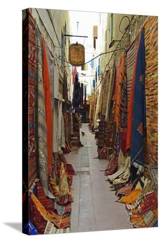 Display of Merchandise, Essaouira, Morocco, North Africa, Africa-Jochen Schlenker-Stretched Canvas Print