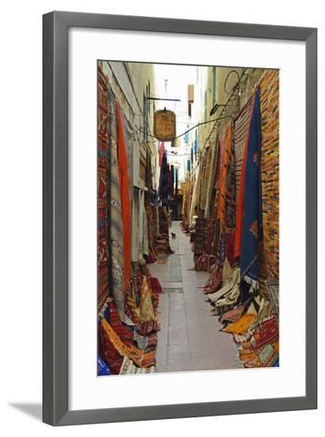 Display of Merchandise, Essaouira, Morocco, North Africa, Africa-Jochen Schlenker-Framed Art Print