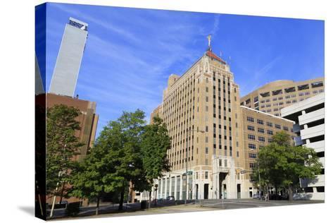 Alabama Power Company Building, Birmingham, Alabama, United States of America, North America-Richard Cummins-Stretched Canvas Print