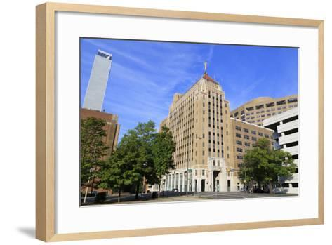 Alabama Power Company Building, Birmingham, Alabama, United States of America, North America-Richard Cummins-Framed Art Print