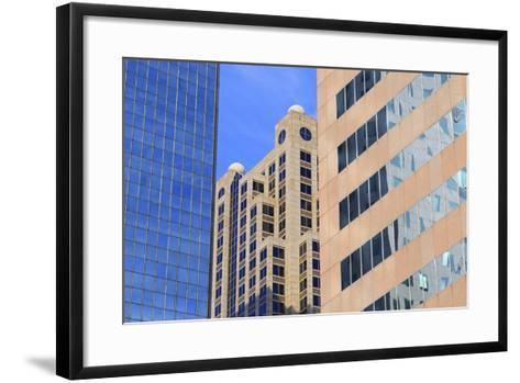 Financial District on 5th Avenue, Birmingham, Alabama, United States of America, North America-Richard Cummins-Framed Art Print