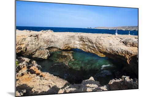 Natural Bridge, Aruba, ABC Islands, Netherland Antilles, Caribbean, Central America-Michael Runkel-Mounted Photographic Print