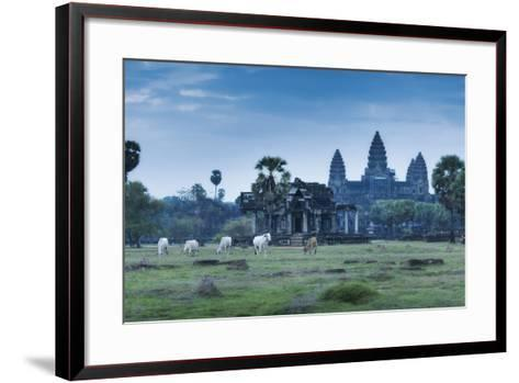 Temple Complex of Angkor Wat, Angkor, UNESCO World Heritage Site, Siem Reap, Cambodia, Indochina-Andrew Stewart-Framed Art Print
