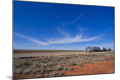 Truck Riding Through the Outback of South Australia, Australia, Pacific-Michael Runkel-Mounted Photographic Print