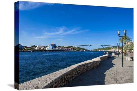 The Sint Annabaai Channel in Willemstad, Capital of Curacao, ABC Islands, Netherlands Antilles-Michael Runkel-Stretched Canvas Print