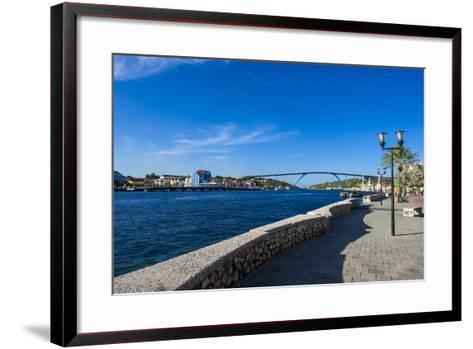 The Sint Annabaai Channel in Willemstad, Capital of Curacao, ABC Islands, Netherlands Antilles-Michael Runkel-Framed Art Print