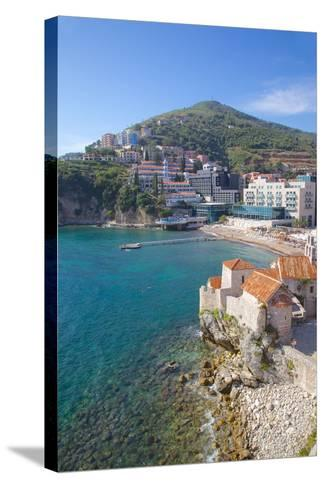 Walls of the Old Town, Budva, Montenegro, Europe-Frank Fell-Stretched Canvas Print