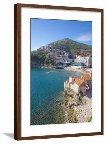Walls of the Old Town, Budva, Montenegro, Europe-Frank Fell-Framed Art Print