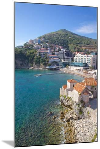 Walls of the Old Town, Budva, Montenegro, Europe-Frank Fell-Mounted Photographic Print