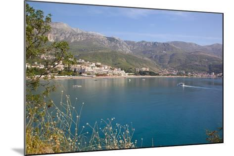 View of Bay, Becici, Budva Bay, Montnegro, Europe-Frank Fell-Mounted Photographic Print