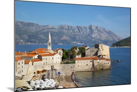 View of Old Town, Budva, Montenegro, Europe-Frank Fell-Mounted Photographic Print