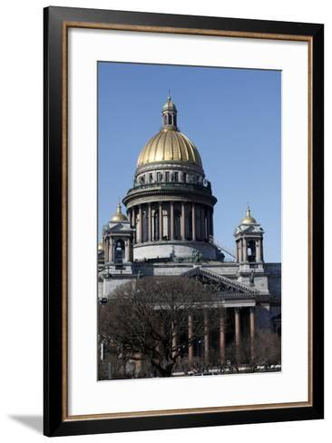 St. Isaac's Cathedral, St. Petersburg, Russia, Europe-Godong-Framed Art Print