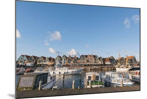 Volendam Harbour, North Holland Province, the Netherlands (Holland), Europe-Mark Doherty-Mounted Photographic Print
