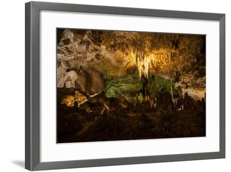 Carlsbad Caverns, Carlsbad Caverns National Park, UNESCO World Heritage Site, New Mexico, USA-Michael Runkel-Framed Art Print