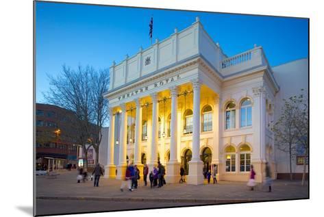 The Theatre Royal at Christmas, Nottingham, Nottinghamshire, England, United Kingdom, Europe-Frank Fell-Mounted Photographic Print