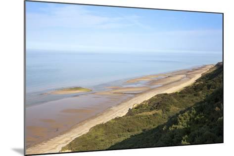 Quiet Beach Between Cromer and Overstrand, Norfolk, England, United Kingdom, Europe-Mark Sunderland-Mounted Photographic Print