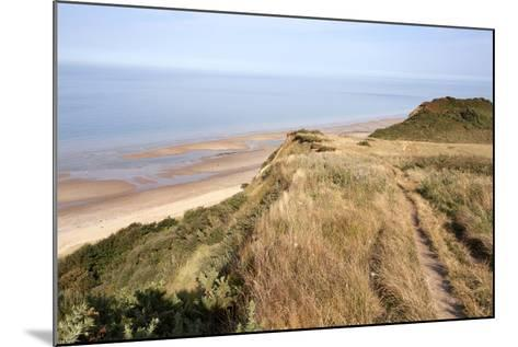 Cliff Path from Cromer to Overstran, Norfolk, England, United Kingdom, Europe-Mark Sunderland-Mounted Photographic Print