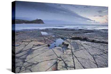 Kimmeridge Bay on the Dorset Coast at Sunset, Jurassic Coast, UNESCO Site, Dorset, England, UK-Julian Elliott-Stretched Canvas Print