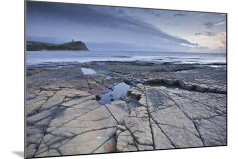Kimmeridge Bay on the Dorset Coast at Sunset, Jurassic Coast, UNESCO Site, Dorset, England, UK-Julian Elliott-Mounted Photographic Print