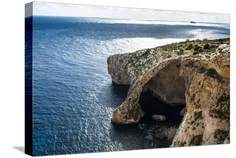 The Landscape around the Blue Grotto, Malta, Mediterranean, Europe-Michael Runkel-Stretched Canvas Print