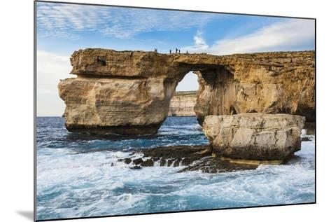 Famous Sea Arch, the Azure Window, Gozo, Malta, Mediterranean, Europe-Michael Runkel-Mounted Photographic Print
