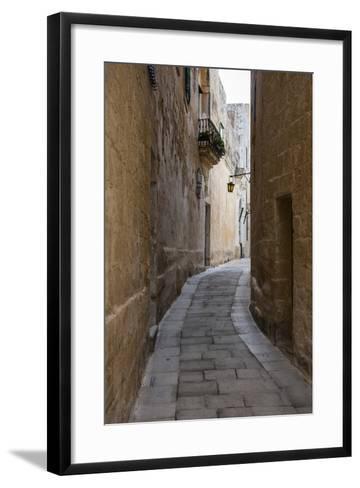 The Town of Imdima (Mdina), Malta, Europe-Michael Runkel-Framed Art Print