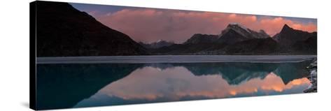 Dudh Pokhari Lake, Gokyo, Solu Khumbu (Everest) Region, Nepal, Himalayas, Asia-Ben Pipe-Stretched Canvas Print