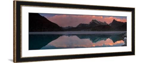 Dudh Pokhari Lake, Gokyo, Solu Khumbu (Everest) Region, Nepal, Himalayas, Asia-Ben Pipe-Framed Art Print