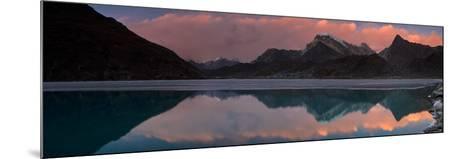 Dudh Pokhari Lake, Gokyo, Solu Khumbu (Everest) Region, Nepal, Himalayas, Asia-Ben Pipe-Mounted Photographic Print