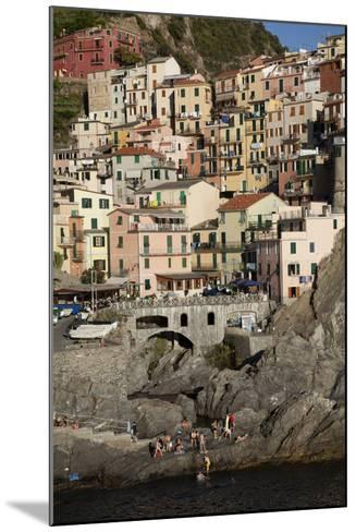 Manarola, One of Five Towns in the Cinque Terre in Northern Italy-Scott S^ Warren-Mounted Photographic Print