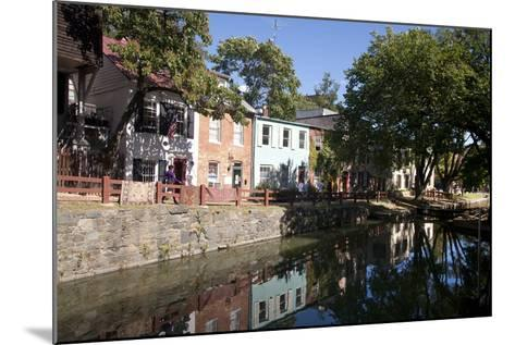 The C&O Canal Towpath in Georgetown, District of Columbia-Skip Brown-Mounted Photographic Print