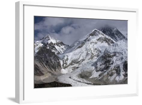 The Khumbu Icefall on the Way Up to Mount Everest-Jonathan Irish-Framed Art Print
