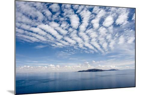 Clouds over Lake Titicaca and Taquile Island, in the Distance-Jonathan Irish-Mounted Photographic Print