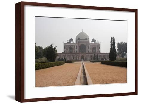 The Tomb of the Mughal Emperor Humayun, a UNESCO World Heritage Site-Jonathan Irish-Framed Art Print