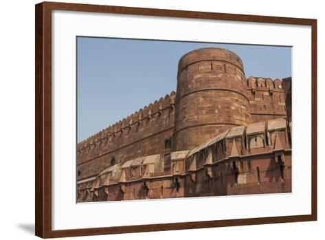 A Low Angle View of Agra Fort-Jonathan Irish-Framed Art Print