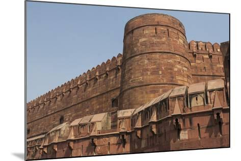A Low Angle View of Agra Fort-Jonathan Irish-Mounted Photographic Print