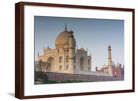 The Taj Mahal Seen from the Banks of the Yamuna River-Jonathan Irish-Framed Art Print