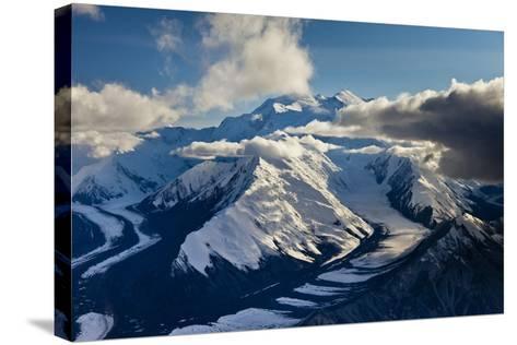 Muldrow Glacier in the Alaska Range-Ralph Lee Hopkins-Stretched Canvas Print