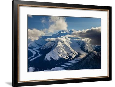 Muldrow Glacier in the Alaska Range-Ralph Lee Hopkins-Framed Art Print